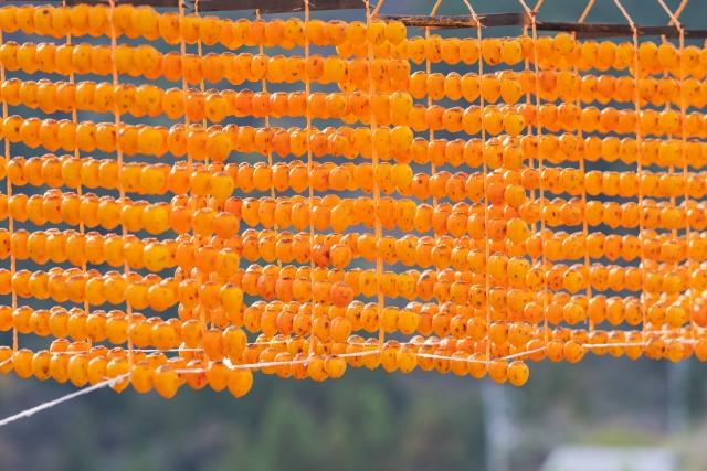 『素敵なマダムになるための、とっておきな秘訣』■Epi.120 驚き!Aでアメリカ人が日本人に干し柿の作り方をレクチャーしている。「海外で大切にされている日本食の文化」 編
