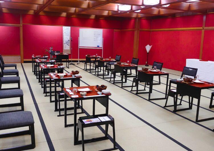 着物で初開催!日本一のお宿 加賀屋にて会席料理テーブルマナーセミナー参加で「考えが180度変わってしまいました」との感想をいただきました